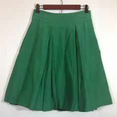 Banana Republic Green Pleated Skirt Size 2 | Clothing, Shoes & Accessories, Women's Clothing, Skirts | eBay!