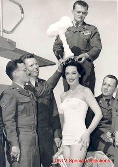Winner of the 1950 'Miss Atomic Bomb' pageant.