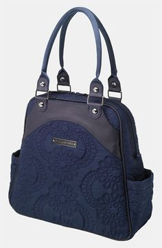 Free shipping and returns on Petunia Pickle Bottom Embossed Diaper Bag at Nordstrom.com. Embossed patterns swirl across a parent-friendly diaper bag equipped with dual top handles and an optional, adjustable shoulder strap for carrying versatility. An included changing pad lets diaper changes happen anywhere, anytime.