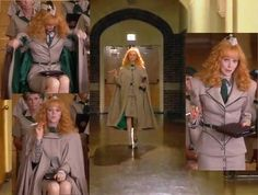 Fashion from the movie Troop Beverly Hills - alternative troop leader uniforms She had made. Chartreuse Dress, Troop Beverly Hills, Orange Heels, Teen Movies, Glamour, Super Hero Costumes, Great Films, Good Cause, Bohemian Gypsy