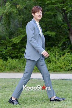 Lee Min Ho Attends Innisfree Play Green Festival