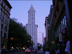 The Smith Tower, the city's first skyscraper that was once the tallest building west of the Mississippi, has been sold. Details: http://bit.ly/GKfr8o