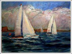 Pintura Militar y Naval: Barcos de vela clásicos
