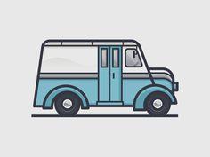 Milk Truck by Scott Tusk