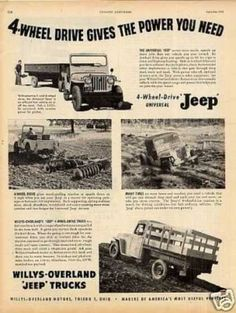 Willys 1949 truck   What happened on Tuesday, 4 October 1949   TakeMeBack.to