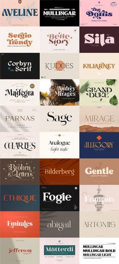 Modern Serif Fonts, Typography, Letterpress, The Print Shop, Script Fonts, Printing
