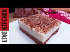 Νηστίσιμη Αλάδωτη Παστάρα!!!Φανταστική Συνταγή(Χωρίς Αλεύρι)Vegan vanilla-chocolate cake (Oil free) - YouTube Kitchen Living, Vegan Desserts, Vanilla Cake, Tiramisu, Biscuits, Ethnic Recipes, Food, Youtube, Breads