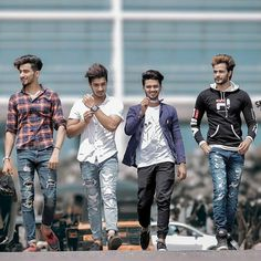 Image may contain: 4 people, people standing and outdoor Cute Boy Photo, Photo Poses For Boy, Boy Poses, Picture Poses, Photoshoot Pose Boy, Indian Photoshoot, Girl Pictures, Girl Photos, Indian Men Fashion