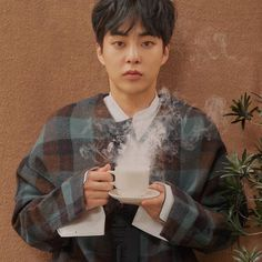 """Anybody else wishing they could have a cup of coffee with Xiumin and Sehun right now? Exo Xiumin, Kim Minseok Exo, Kpop Exo, Kai, Exo 2017, Rapper, Exo Album, Exo Official, Xiuchen"