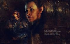 Kili and Tauriel. . Wallpaper images in the The Hobbit: The Desolation ...