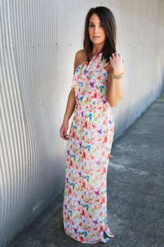 May Flowers Maxi - The Rage