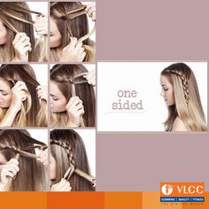 Try this one sided #DIY #Hairstyle.  Do you like it?