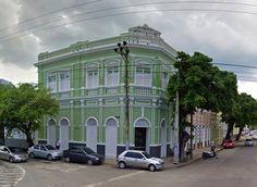 Prédio histórico no centro antigo de Fortaleza.
