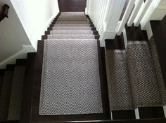 Our Diamond Charcoal/Taupe indoor/outdoor rug, installed by Colony #Rug Co. #interiors
