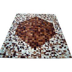 Бело-коричневый ковер Jane #carpet #carpets #rugs #rug #interior #designer #ковер #ковры #коврыизшкур #шкуры #дизайн #marqis