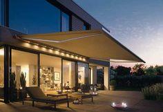 Los Toldos Proyectantes son ideales para el control de luz solar en terrazas, jardines y comercios. Permiten prolongar los espacios interiores hacia el exterior y en días soleados crear espacios con temperatura agradable