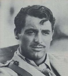 Cary Grant. Possibly the only person I know of who can look this good with a mustache :)