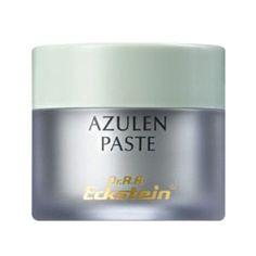Azulen Paste - Dr. Eckstein Kosmetik ..das wohl bekannteste und erfolgreichste Produkt von Dr. Eckstein. Die Azulen Paste ist ein Wundermittel bei Pickel und Hautunreinheiten.