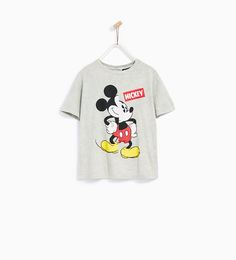 ZARA - KIDS - FADED MICKEY T-SHIRT