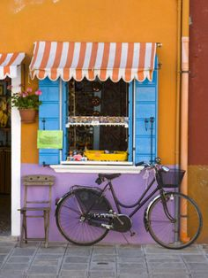 Shop Front, Burano, Venice, Italy Photographic Print by Doug Pearson at AllPosters.com