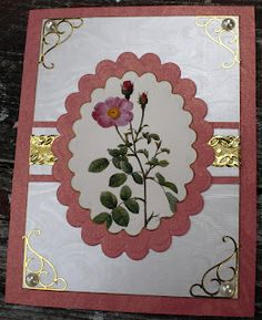 All paper mounted onto card stock with my Xyron. Die Cuts by Spellbinders. More flowers caused by April Showers.