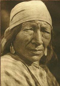 A Blackfoot Woman, 1926, Edward Curtis