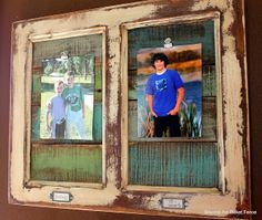 Cupboard Door to Picture Frame