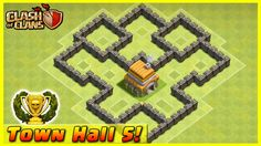 cool Clash of Clans - DEFENSE STRATEGY - Townhall Level 5 Trophy Base Layout  (TH5 Defensive Strategies)  Clash of Clans best defense strategies for Townhall Level 5 bases! Make sure you max out Town Hall 5 for best defense & attacks! COMMENT: Which To...http://clashofclankings.com/clash-of-clans-defense-strategy-townhall-level-5-trophy-base-layout-th5-defensive-strategies/