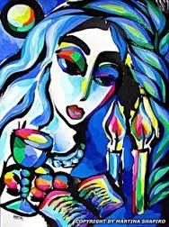 Peace of Shabbat Jewish original paintings by artist Martina Shapiro, fine art, abstract, contemporary Shabbat Shalom Images, Cardboard Sculpture, Candle Art, Jewish Art, Jewish Food, Unusual Art, Canadian Artists, Christian Art, Art History