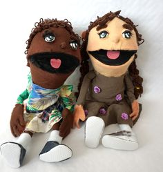 Muppet dolls (handmade)