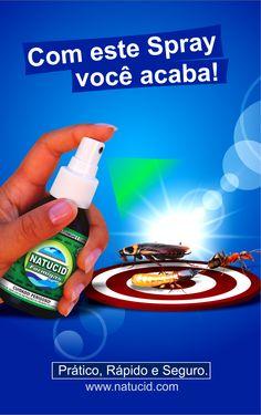 Cód. 23 - Natucid 100ml Cartelas - Eficaz contra Formigas, Cupins e Baratas - Cx 01 frasco - NATUCID LIFESCIENCE