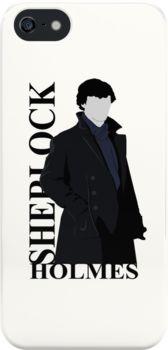 'Sherlock Holmes' iPhone Case by drawingdream Sherlock Cumberbatch, Sherlock Holmes, Doctor Who Gifts, Iphone Cases, Fandoms, Prints, People, Shirt, Shirts