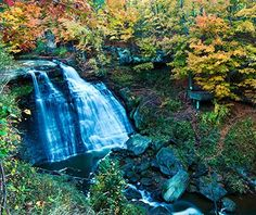 Cuyahoga Valley National Park, OH: The hike to Brandywine Falls is extremely popular, especially in the fall. Or stay far from the crowds and hike to Blue Hen Falls, a 15-foot waterfall over a protruding shale plate. For even more isolation, take the Buckeye Trail for a picnic in a pristine stand of hemlocks. The park's Beaver Marsh is where a resurgent beaver population built a series of dams that flooded an old dump, restoring it to a wetland teeming with birds, otter and, of course…