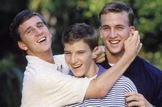 Peyton Manning Family | 1996 - Rare Photos of the Mannings - Photos - SI.com_Cooper, Eli & Peyton
