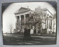 Walker Evans (American, 1903-1975) Belle Grove Plantation with Tree Stump in Foreground, White Castle, Louisiana | Sale Number 2727B, Lot Number 157 | Skinner Auctioneers