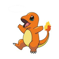Charmander blowing fire