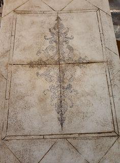 Faux tiles
