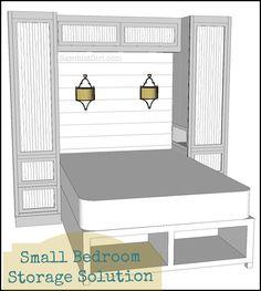 Kristy's Bedroom – 1 | http://thesawdustdiaries.com/kristys-bedroom-1/
