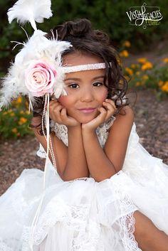 Pure Sweet Whisper Elegant Flower Girl Dress