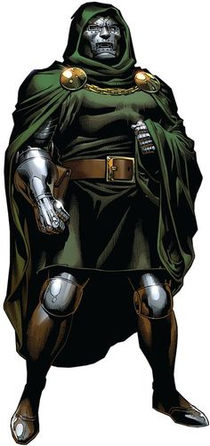 DR. DOOM - The Latverian Monarch known to many as Doctor Doom was born brilliant. He spent much of his life studying both dark magic and science, only to have his plans continually foiled by meddling superheroes. As monarch of Latveria, Doom's rule is dealt with a heavy hand. Doom is a brilliant inventor and scientist. While at the same time, he is one of the most powerful sorcerers in existence, making him easily amongst the most dangerous villains on Earth.