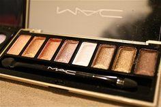Gorgeous bronzed MAC palette.