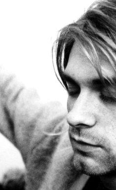 Kurt Cobain . . . beautiful, talented and so sadly troubled. RIP.