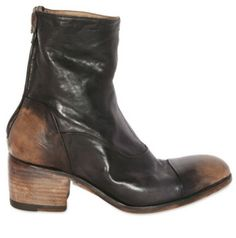 Alberto Fasciani horse skin brushed Ankle Boot