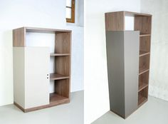 Nice combination of materials. Office furniture by http://wearein.eu/