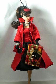 Handmade Vintage Barbie/Silkstone Clothes by P. Linden-11pcs