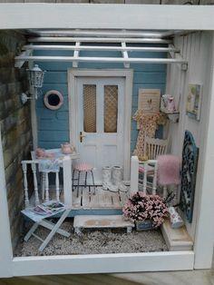 Linden Rose Miniatures: My Summer Porch