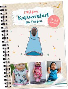 Lybstes Malika Kapuzenshirt für Puppen, 38-43cm
