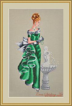 """Angelica"" cross stitch pattern"