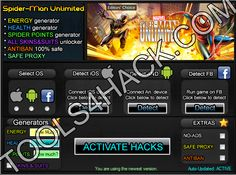 Spider-Man Unlimited  Hack - 27.06.2014 Updated http://tools4hack.com/spider-man-unlimited-hack-september-2014/