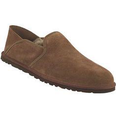 UGG Cooke Slip On Casual Shoes - Mens Dark Chestnut